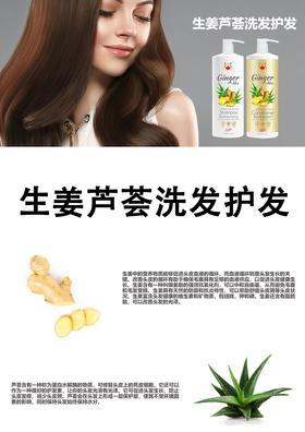 生姜芦荟洗发护发套装 1000ml X 2瓶