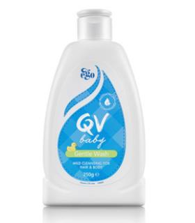 澳洲直邮Ego QV 宝宝洗发沐浴二合一 250g 新生婴儿无泪配方(两个装)