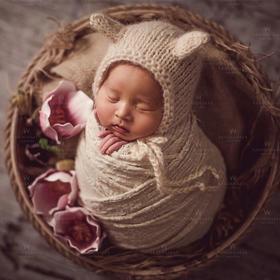玛瑞莎新生儿摄影上门拍(到家拍)