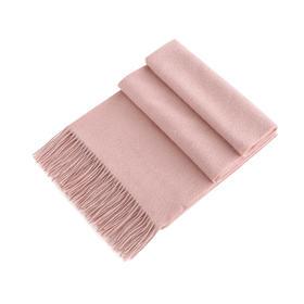 Covet 自有品牌  双面水波纹山羊绒围巾