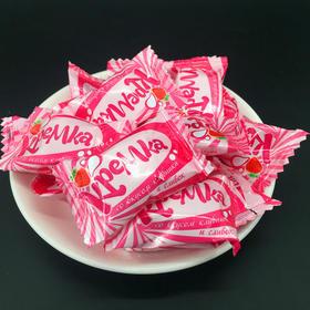 KDV草莓牛奶味硬糖1KG