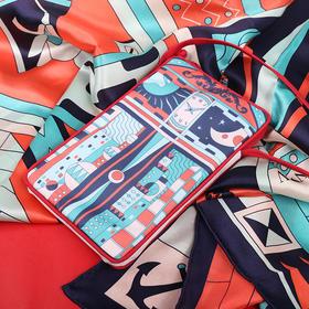 Art·Easy海上石库门王维安外滩风景画便携贴身小巧简约时尚斜挎包