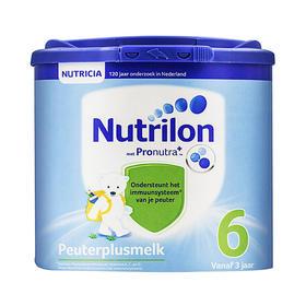 荷兰直邮 荷兰Nutrilon牛栏婴幼儿奶粉 6段 800g(三罐装)