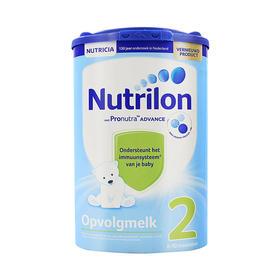 荷兰直邮 荷兰Nutrilon牛栏婴幼儿奶粉 2段 800g(三罐装)
