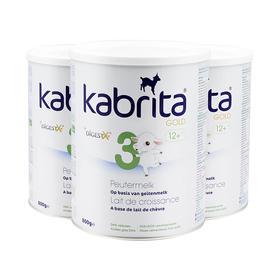 荷兰直邮 荷兰佳贝艾特kabrita婴幼儿羊奶粉3段 800g/罐3罐装