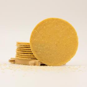 精选 | 铁棍山药芝麻饼 香酥脆 纯烘焙非油炸薄饼 营养又好吃 390g/盒 买一送一 | 基础商品