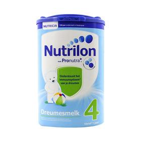 荷兰直邮 荷兰Nutrilon牛栏婴幼儿奶粉 4段 800g(三罐装)