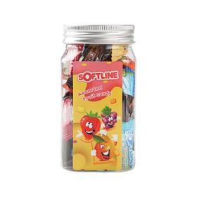 泰国六个口味水果软糖135g/罐