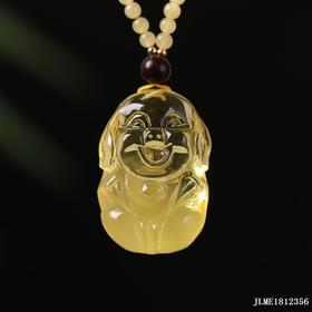 金绞蜜【福猪】雕刻件 重量约:8.5g