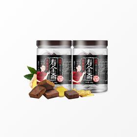 寿全斋黑糖姜块180g/罐*2