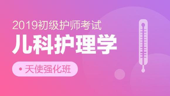 2019初级护师考试天使强化班【儿科护理学】