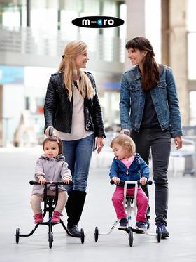 瑞士米高micro trike 溜娃神器 便携婴幼儿手推车儿
