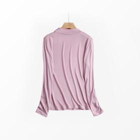 金三塔|绢丝半高领打底衫