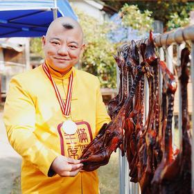 【食神胡亮独门制秘酱鸭】地道杭州风味 108小时古法制作 一只连骨头都味道难忘的酱鸭
