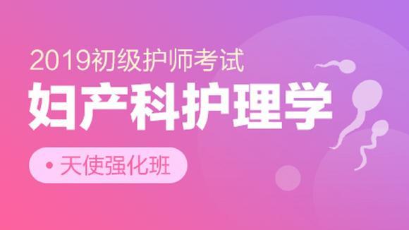 2019初级护师考试天使强化班【妇产科护理学】课件持续更新中