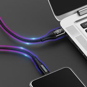 【限时大促!拍任意两条送3.5插孔耳机一付告别隐患,防止过充,不伤机】1.2米--2米超长新科技智能的数据线!