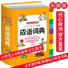 彩图版小学生多功能成语词典大字更护眼