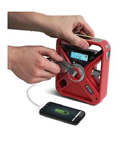 美国正品eton FRX3+手摇发电 带夜光 天气警报无线智能手机充电器