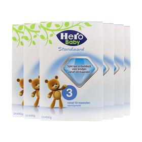 荷兰直邮 荷兰Herobaby婴幼儿奶粉 3段 800g(三罐装)
