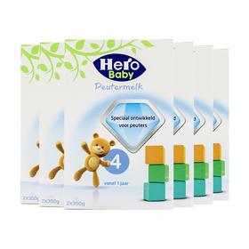 荷兰直邮 荷兰Herobaby婴幼儿奶粉 4段 700g(三罐装)