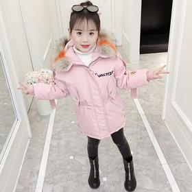 KYM176新款小女孩洋气棉袄棉服TZF