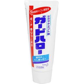 日本原装花王KAO亮白牙膏去除牙垢去牙渍防蛀165g薄荷口味