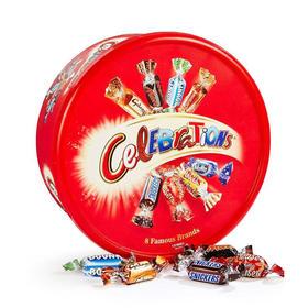 英国玛氏巧克力 MARS大脸盆 巧克力 650g