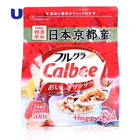 Calbee卡乐比 水果谷物麦片500g