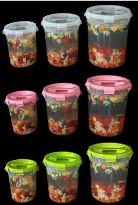 27.5L乐扣酵素桶 一箱4个 食品级多功能圆形桶