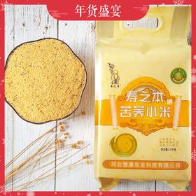 优选丨河北苦荞黄小米 月子米  清肠毒、降三高   现磨现发   5斤装 包邮