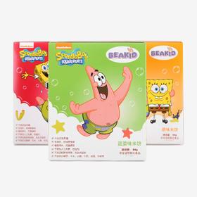 Beakid海绵宝宝 婴儿米饼3盒装(适合6个月大的宝宝食用)