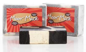 Moor Mask问题痘痘肌肤蜗牛黑泥洁面皂95g