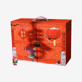 《歪歪兔创意小工厂系列》春节盒子