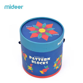 MiDeer/弥鹿 多彩几何积木250片