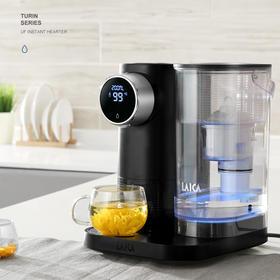 【滤出阿尔卑斯山的清甜】莱卡 意大利双芯净水器 即热式饮水机 加热净水器台式一体机