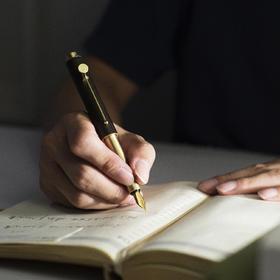 【小时光便携钢笔 】小巧精致,高颜值文艺复古,私人定制,送长辈送上司送学生送小孩
