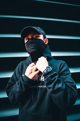 HyperGrand新加坡手表TOMORROW ONCE AGAIN系列时尚潮流石英腕表尼龙中性腕表HOLIDAY 38mm