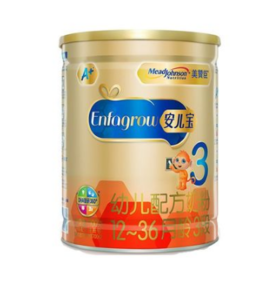 2罐装 美赞臣3段安儿宝900g (12-36月龄幼儿适用) (新包装)