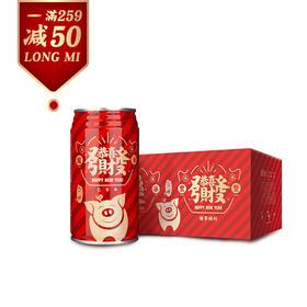 """【满259减50】龙米2019""""猪事大吉""""稻花香新年定制款300g*8罐x4箱"""