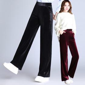DM1798新款高腰阔腿裤TZF