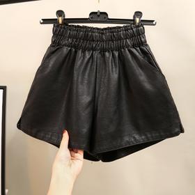 (捡漏啦)DMY8078D新款PU皮短裤TZF