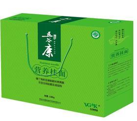 五谷康-有机营养果蔬挂面礼盒