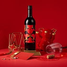 高颜值 年夜范儿怡园酒庄 庆春 干红葡萄酒 规格750ml 果味鲜美 酒体圆润