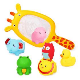 【为思礼】贝恩施洗澡玩具长颈鹿729