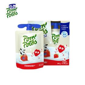 Pom'Potes 法国原装进口法优乐风味酸奶 4袋/盒