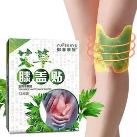 【养膝护膝,专为膝盖设计】膝盖冷敷艾灸贴 12片装  热卖