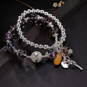 YLY26794纯银紫水晶手链TZF
