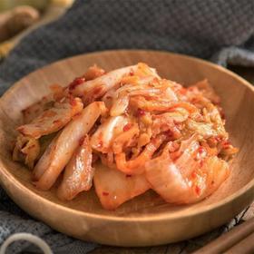 鲁记田园泡菜  浅渍泡菜(白菜) 鲜脆爽口 美味下饭菜 200/500g罐包邮