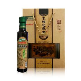 【健康厨房】老郧阳木榨坊 古法木榨芝麻油 500ml*2瓶丨包邮
