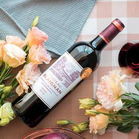 [柏朗城堡干红葡萄酒]法国梅多克产区 750ml